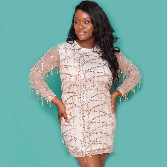 5d3f09281de5 PrettyLittleThing Dresses | Sequin Dress | Poshmark